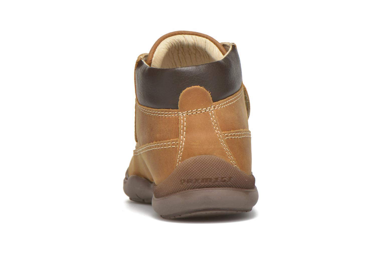 Zapatos con velcro Primigi Demian Beige vista lateral derecha