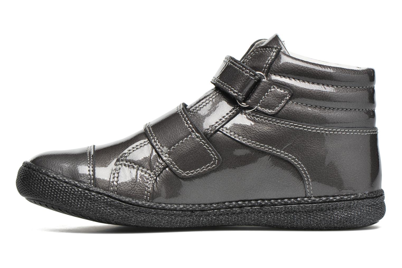 Chaussures à scratch Primigi Anne-E Gris vue face