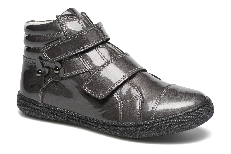 Chaussures à scratch Primigi Anne-E Gris vue détail/paire
