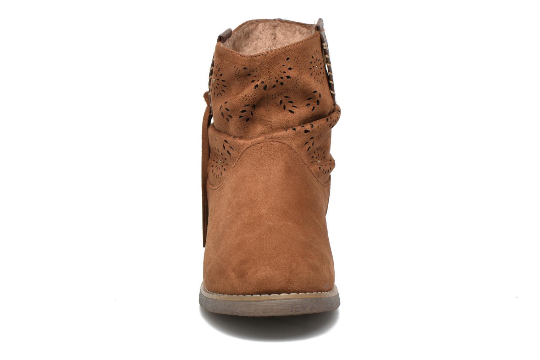 Bottines et boots Coolway Baili Marron vue portées chaussures