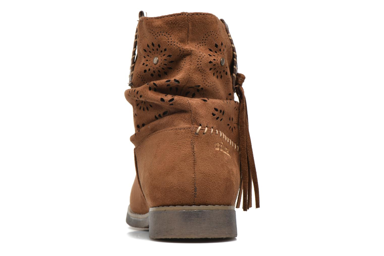 Bottines et boots Coolway Baili Marron vue droite