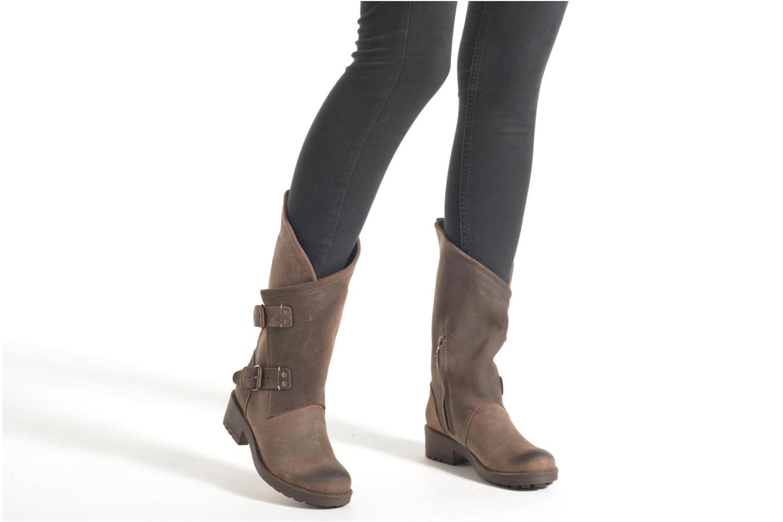 Bottines et boots Coolway Alida Marron vue bas / vue portée sac