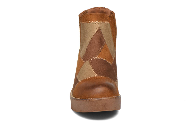 Bottines et boots Coolway Barek Marron vue portées chaussures