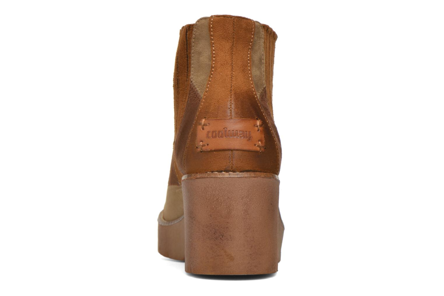 Ankle boots Coolway Barek Brown view from the right