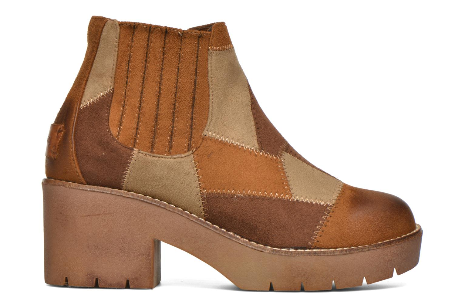 Ankle boots Coolway Barek Brown back view