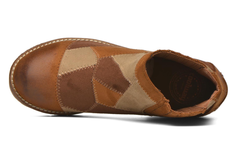 Bottines et boots Coolway Barek Marron vue gauche
