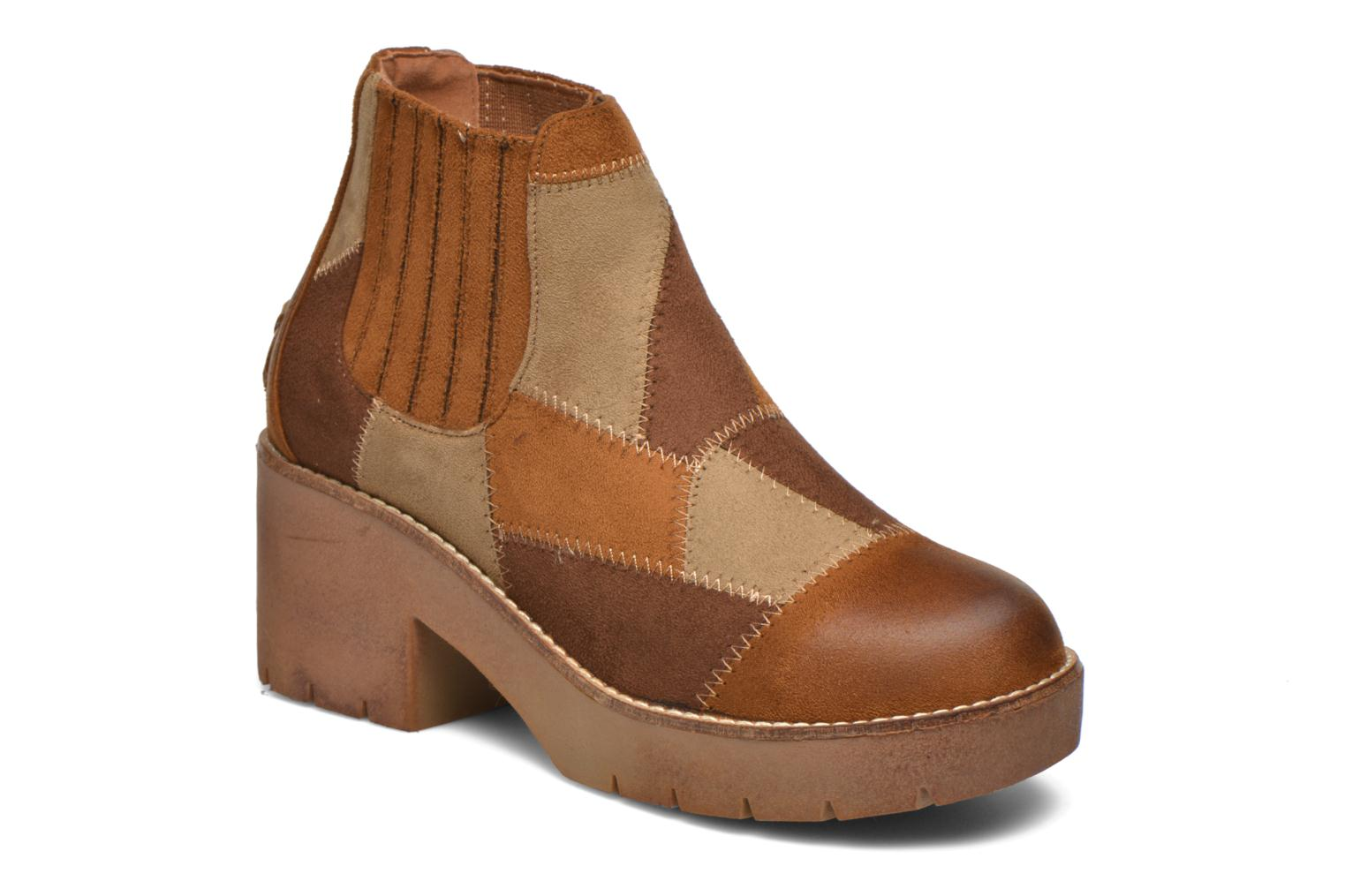 Ankle boots Coolway Barek Brown detailed view/ Pair view