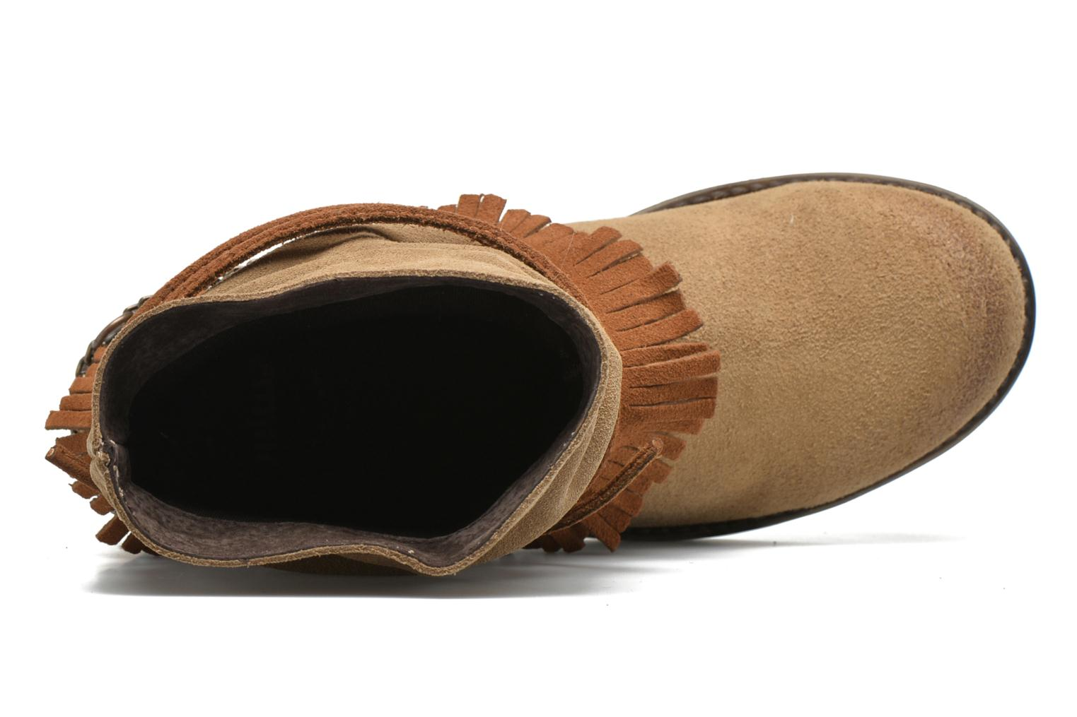 Ankle boots Coolway Belia Brown view from the left