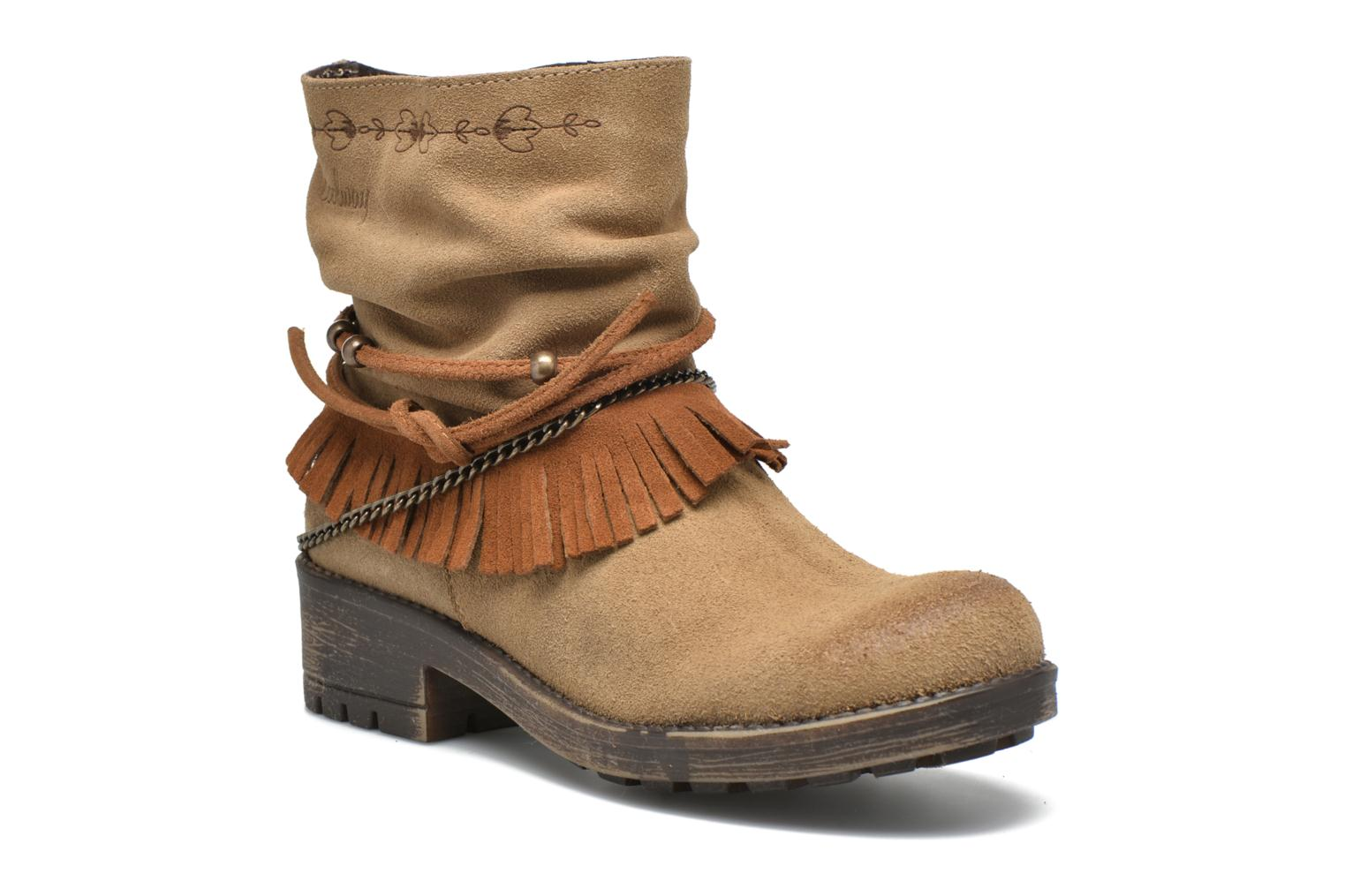 Ankle boots Coolway Belia Brown detailed view/ Pair view