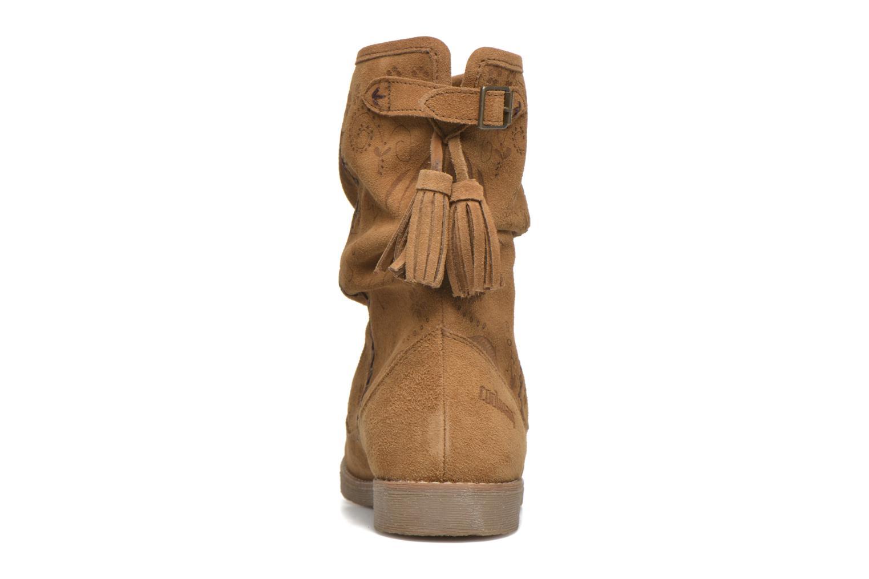 Stiefeletten & Boots Coolway Betina braun ansicht von rechts