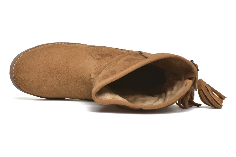 Stiefeletten & Boots Coolway Betina braun ansicht von links