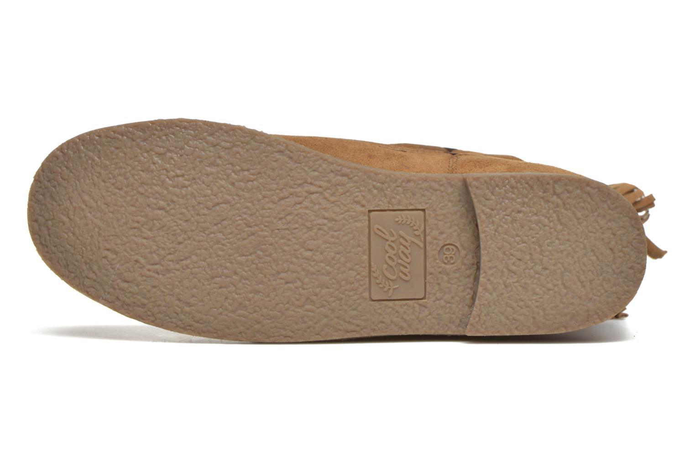 Stiefeletten & Boots Coolway Betina braun ansicht von oben