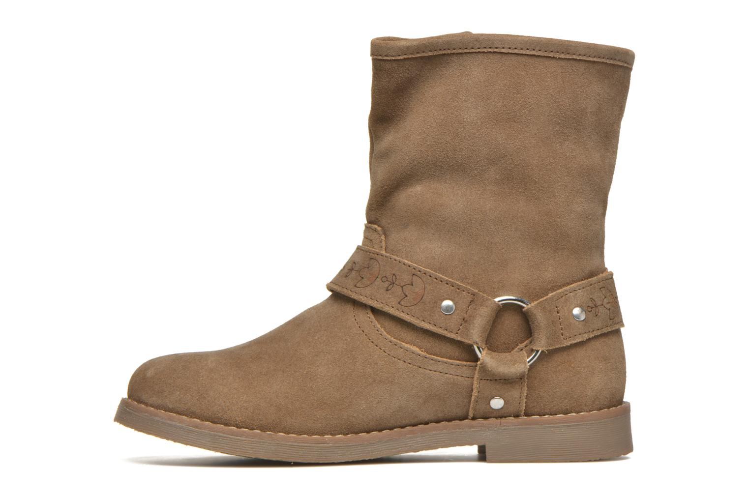 Ankle boots Coolway Betusta Brown front view
