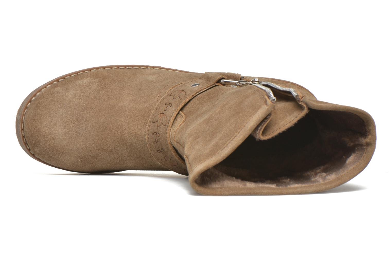 Ankle boots Coolway Betusta Brown view from the left