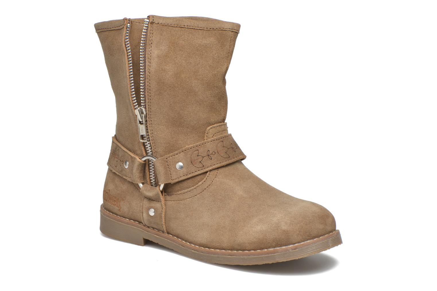 Ankle boots Coolway Betusta Brown detailed view/ Pair view