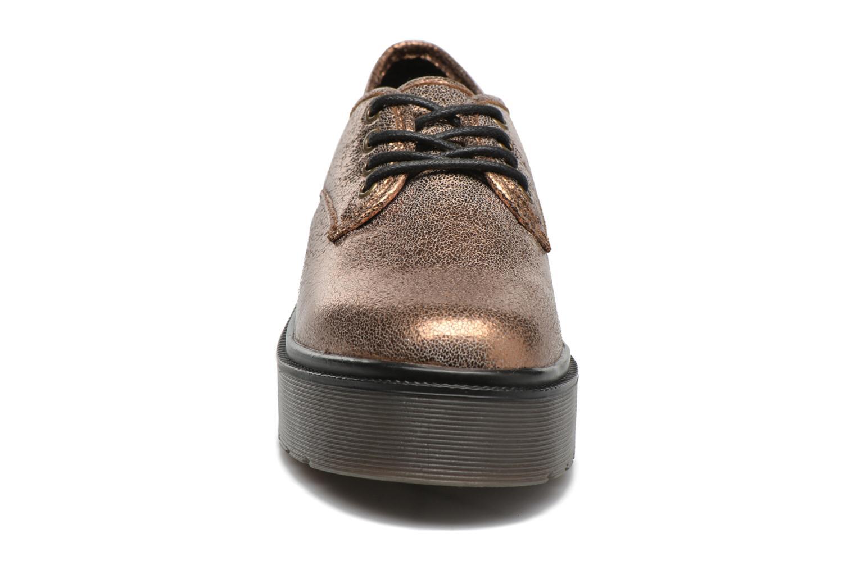 Scarpe con lacci Coolway Bonet Oro e bronzo modello indossato