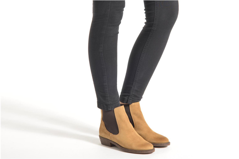 Bottines et boots Coolway Bradley Beige vue bas / vue portée sac