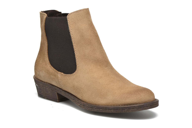 Boots en enkellaarsjes Coolway Bradley Beige detail