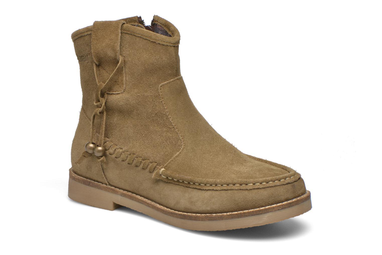 Ankelstøvler Coolway Breno Grøn detaljeret billede af skoene