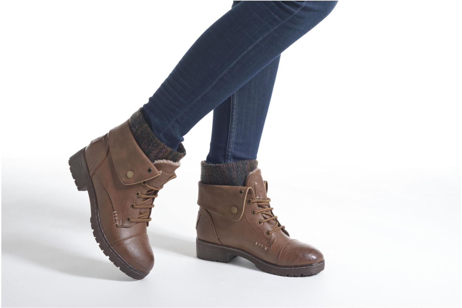 Ankle boots Coolway Bringit Brown view from underneath / model view