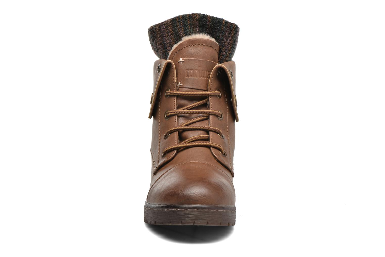 Ankle boots Coolway Bringit Brown model view