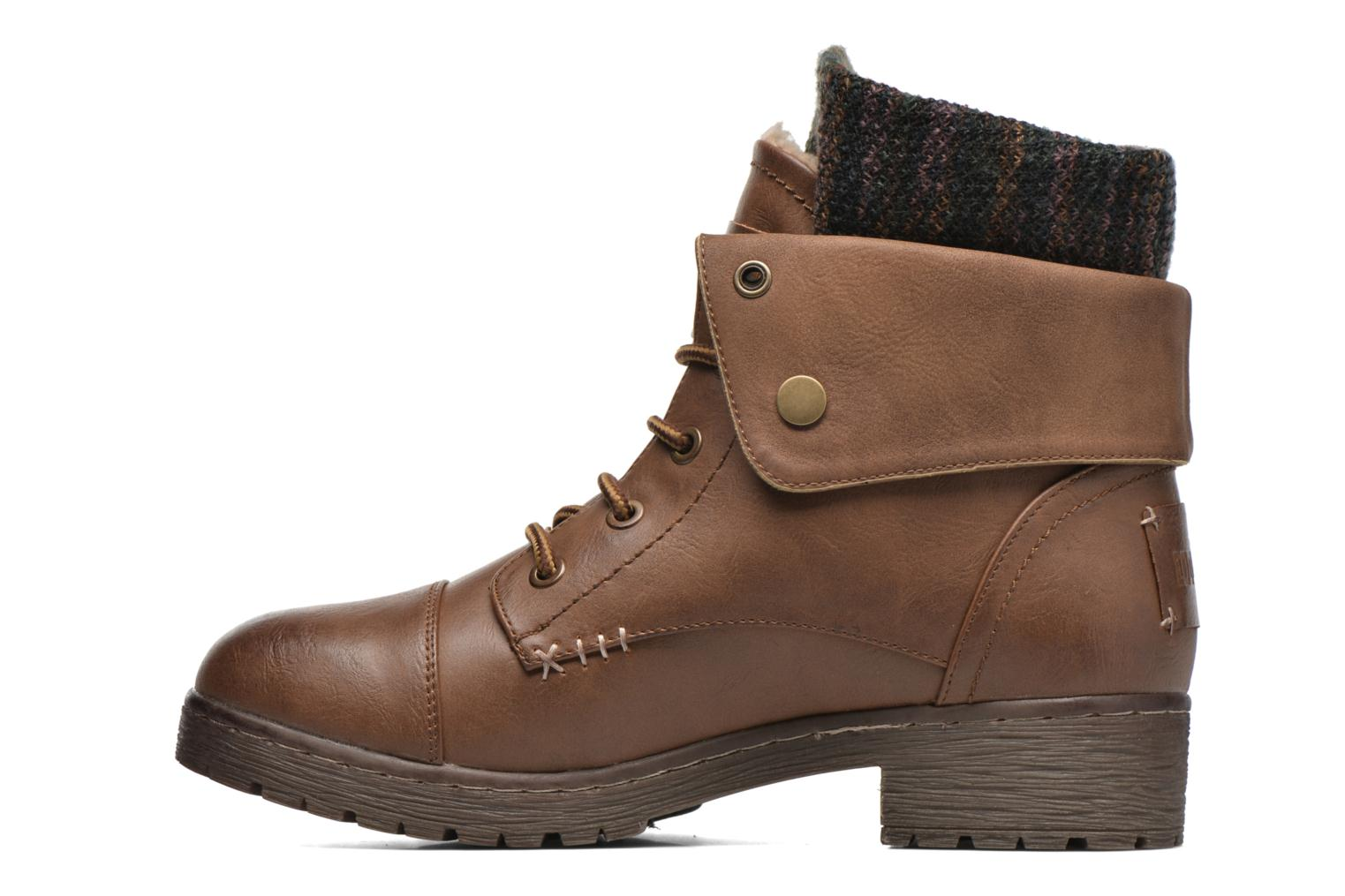Ankle boots Coolway Bringit Brown front view