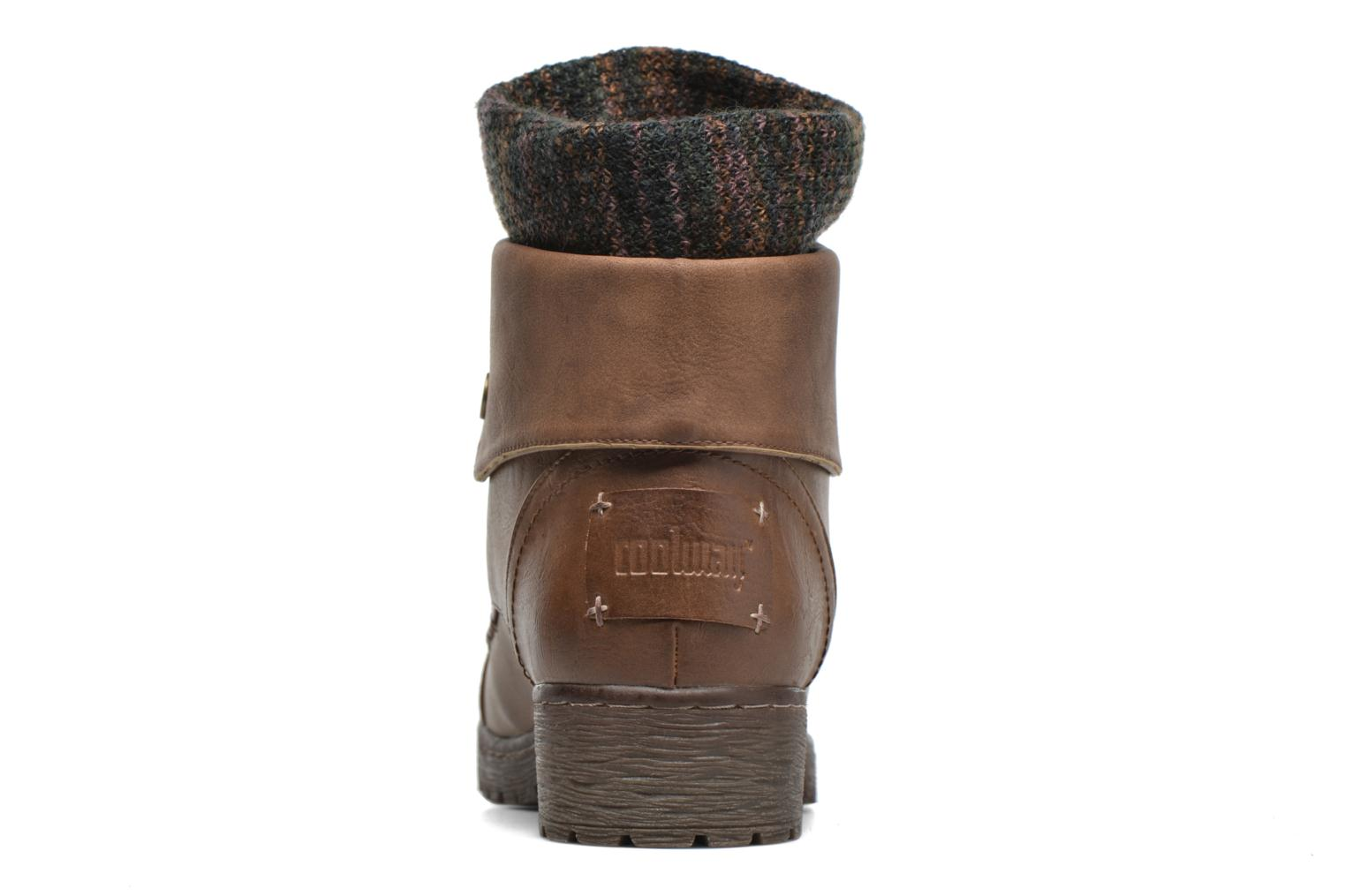 Ankle boots Coolway Bringit Brown view from the right