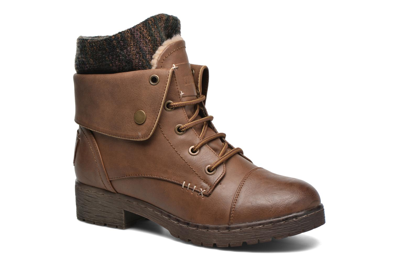 Ankle boots Coolway Bringit Brown detailed view/ Pair view