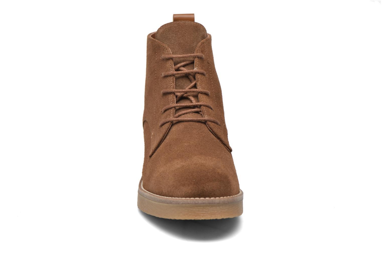 Bottines et boots Georgia Rose Lucrepe Marron vue portées chaussures