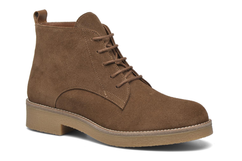 Bottines et boots Georgia Rose Lucrepe Marron vue détail/paire