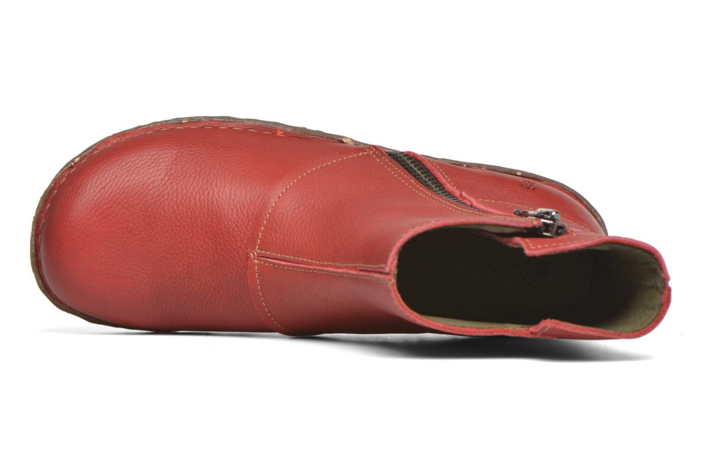 Bottines et boots El Naturalista Yggdrasil NE28 Rouge vue gauche
