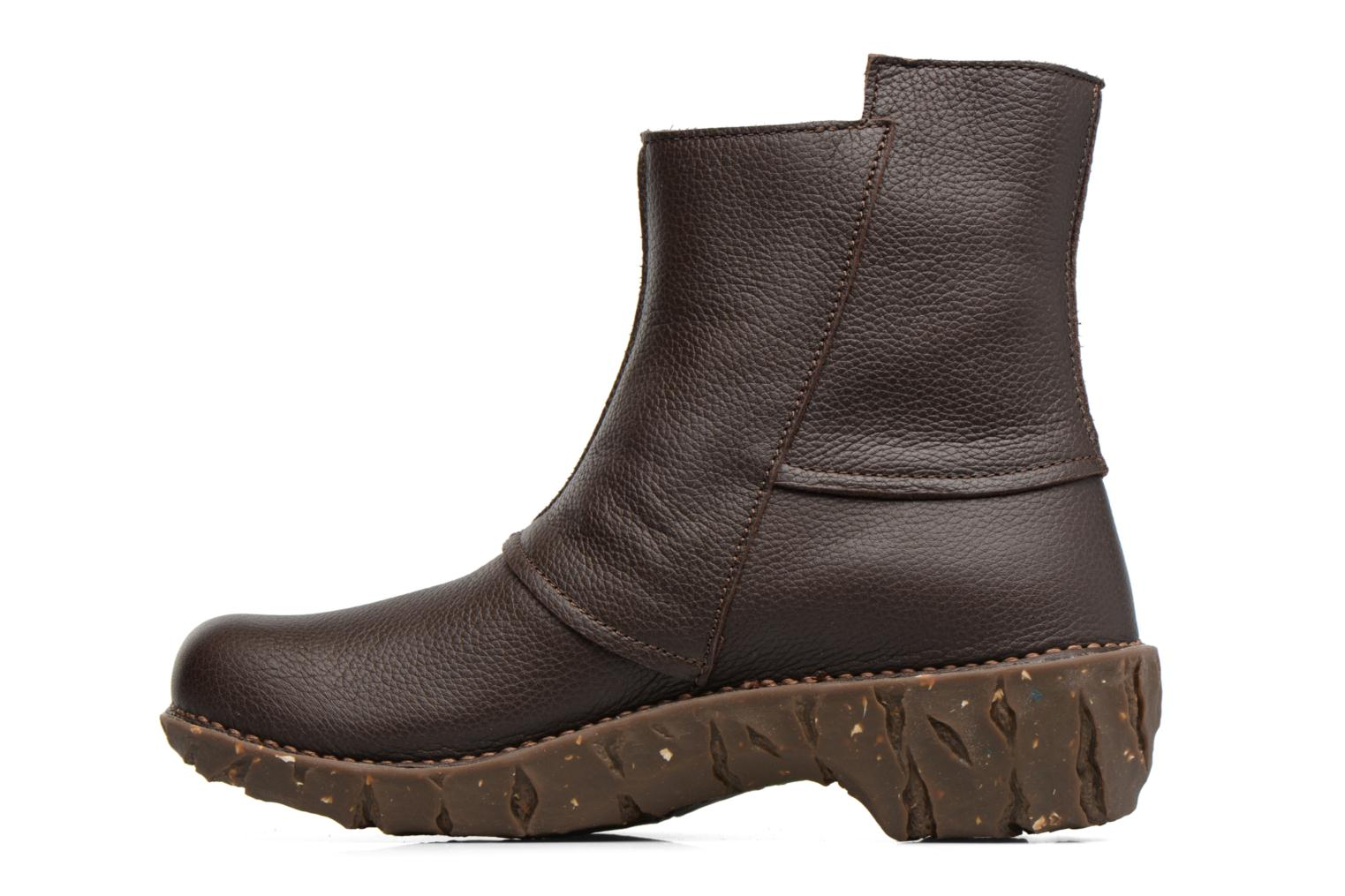 Ankle boots El Naturalista Yggdrasil NE28 Brown front view