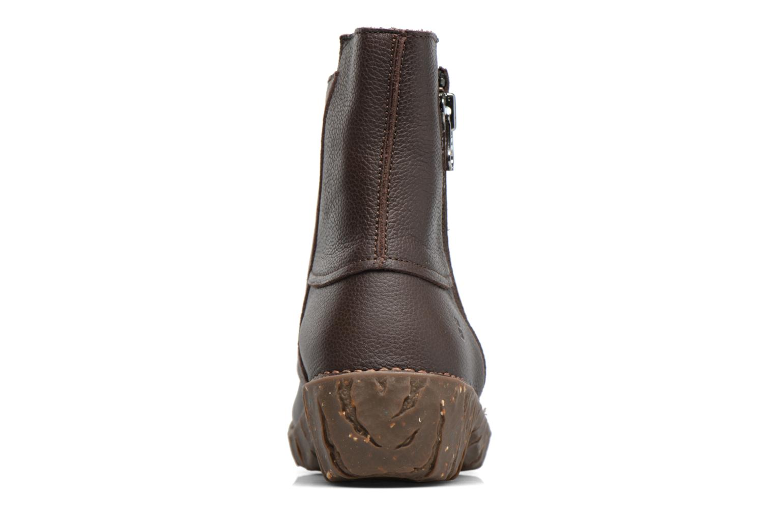 Ankle boots El Naturalista Yggdrasil NE28 Brown view from the right