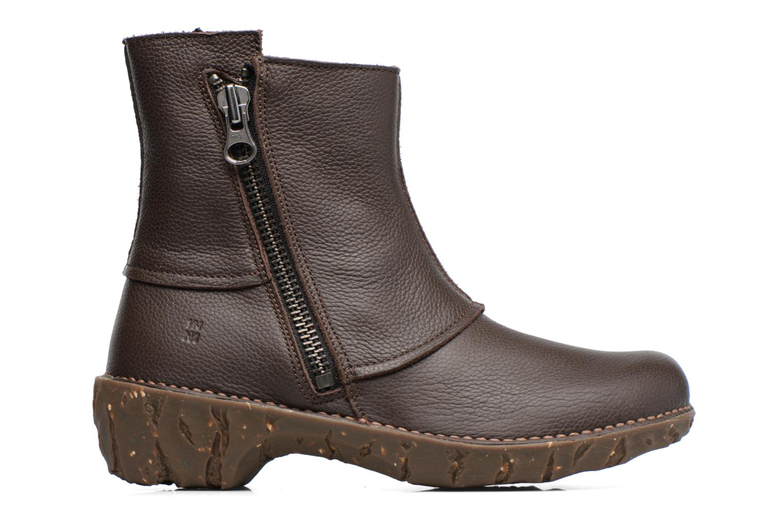 Ankle boots El Naturalista Yggdrasil NE28 Brown back view