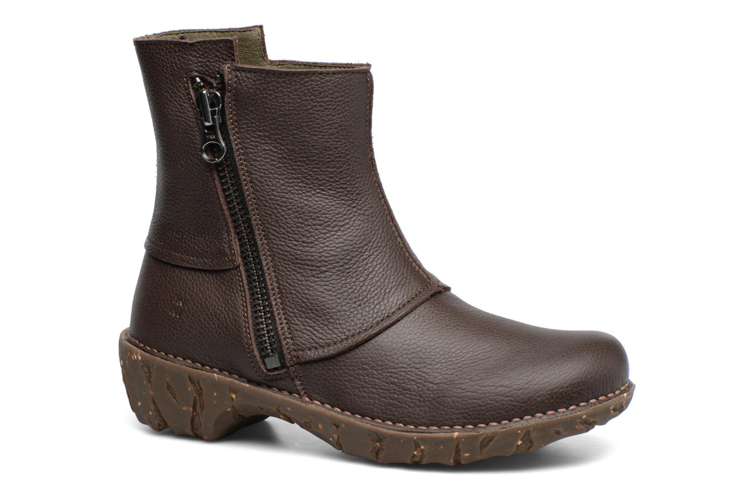 Ankle boots El Naturalista Yggdrasil NE28 Brown detailed view/ Pair view
