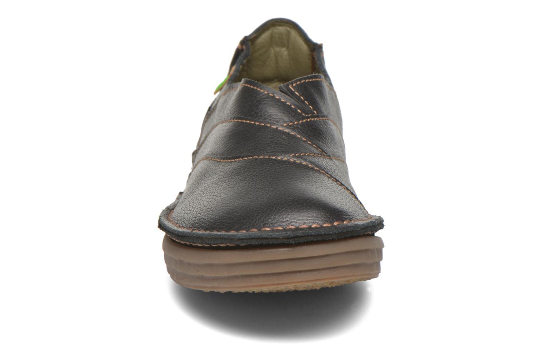 Mocassins El Naturalista Rice Field NF84 Noir vue portées chaussures
