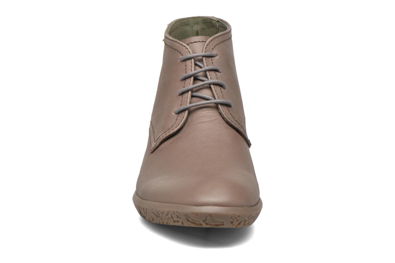 Chaussures à lacets El Naturalista Alhambra NG11 Marron vue portées chaussures