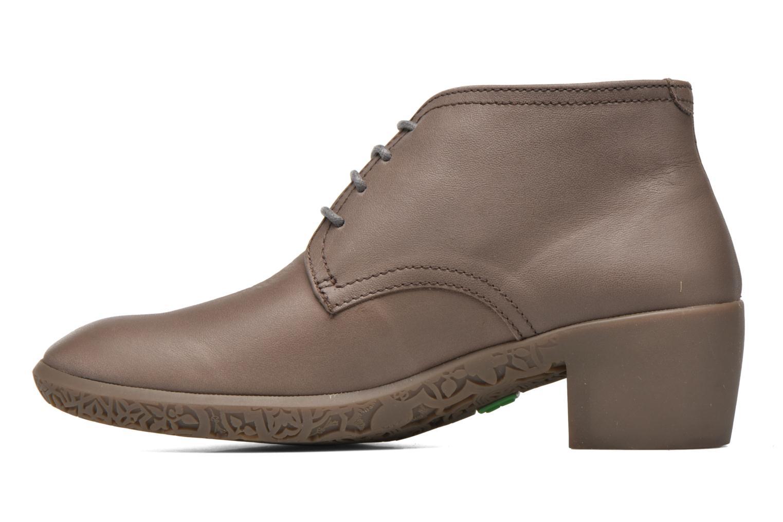Chaussures à lacets El Naturalista Alhambra NG11 Marron vue face