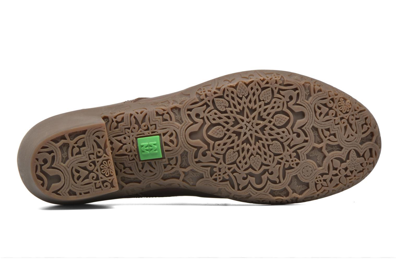 Chaussures à lacets El Naturalista Alhambra NG11 Marron vue haut