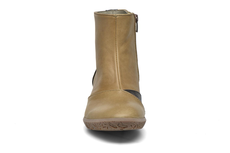 Bottines et boots El Naturalista Alhambra NG15 Vert vue portées chaussures
