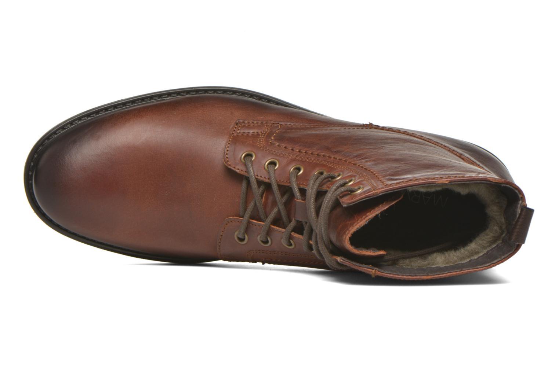 Stiefeletten & Boots Marvin&Co Ansi braun ansicht von links
