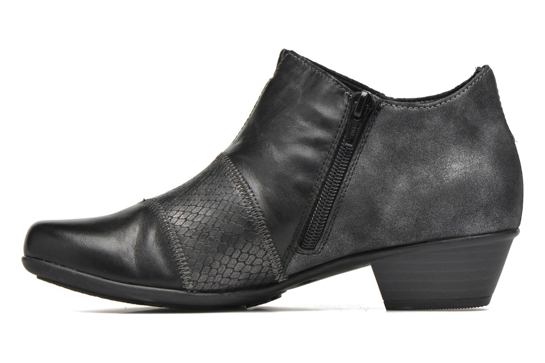 Bottines et boots Remonte Iris D7383 Noir vue face