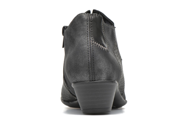 Bottines et boots Remonte Iris D7383 Noir vue droite