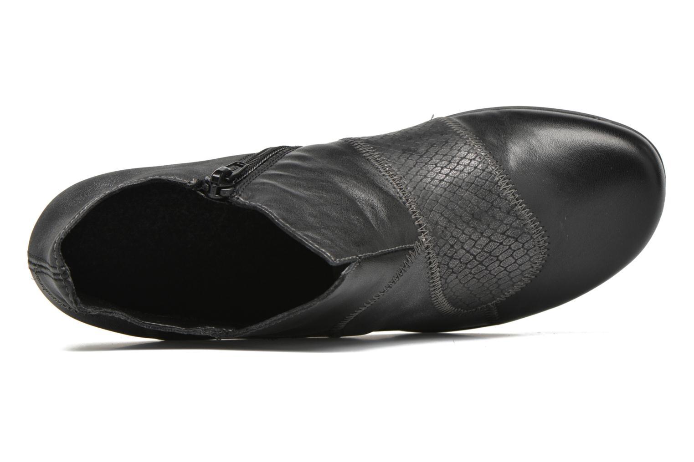 Bottines et boots Remonte Iris D7383 Noir vue gauche