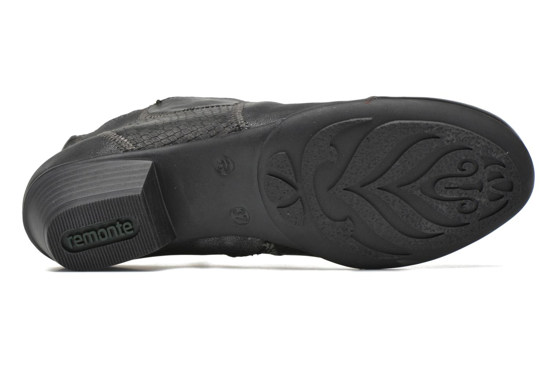 Bottines et boots Remonte Iris D7383 Noir vue haut