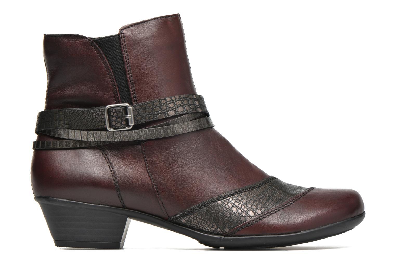 Bottines et boots Remonte Julie D7397 Bordeaux vue derrière