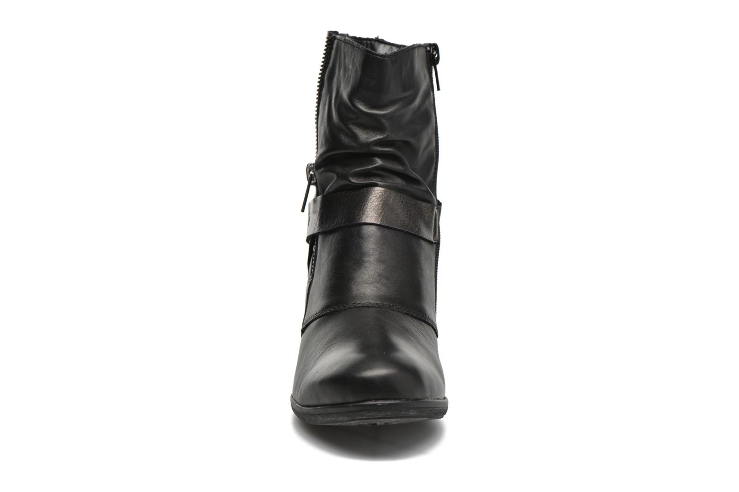 Ankle boots Remonte Marine D8772 Black model view