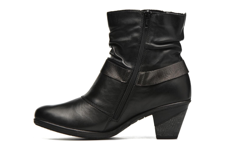Bottines et boots Remonte Marine D8772 Noir vue face