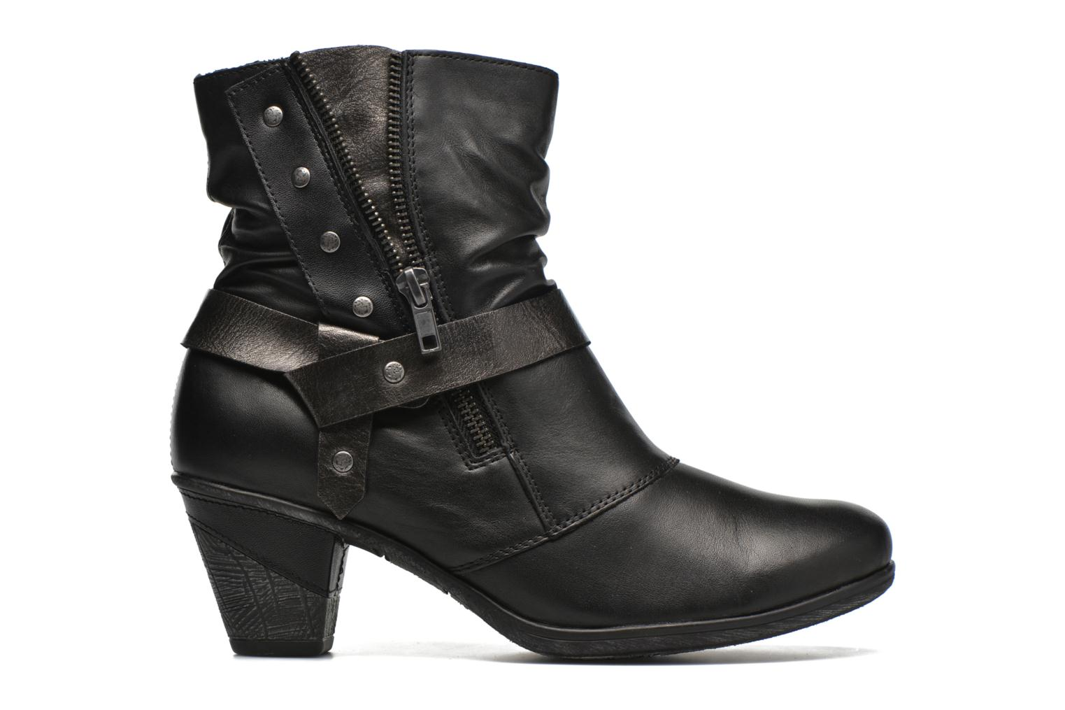 Ankle boots Remonte Marine D8772 Black back view