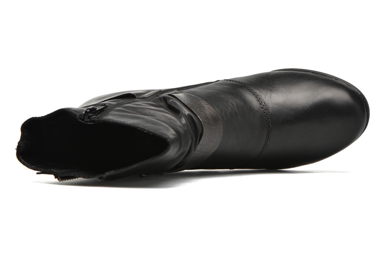 Bottines et boots Remonte Marine D8772 Noir vue gauche